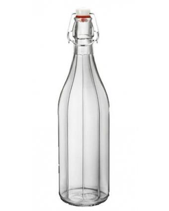 Bouteille en verre à étrier 34 oz - Transparent