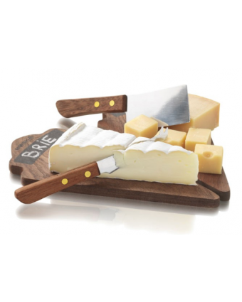 Ensemble de deux plateaux à fromage