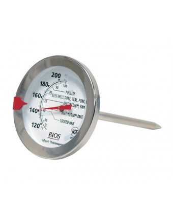 White DT167 BIOS Professional Refrigerator//Freezer Thermometer
