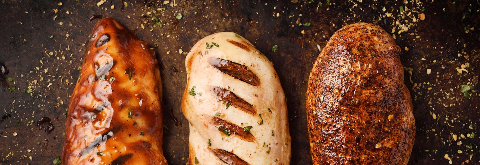Sélection d'items pour aromatiser les aliments cuits avec le BBQ