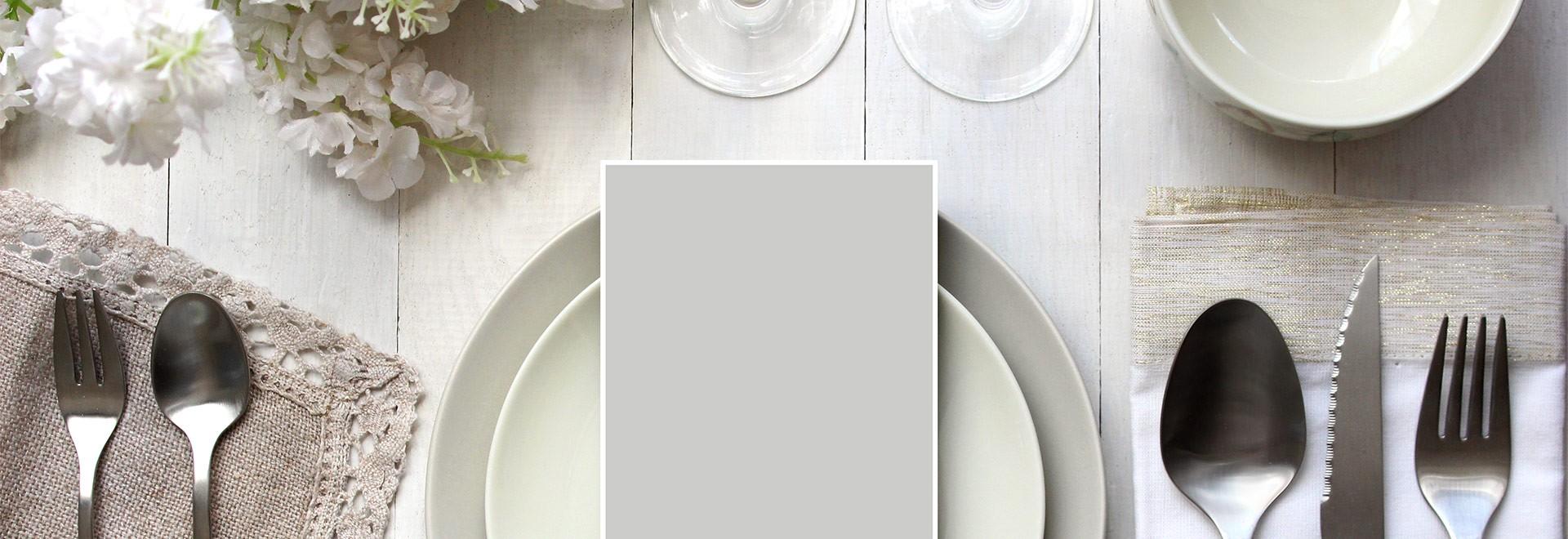 La sélection de la vaisselle et la coutellerie vue par les conseillers support aux ventes