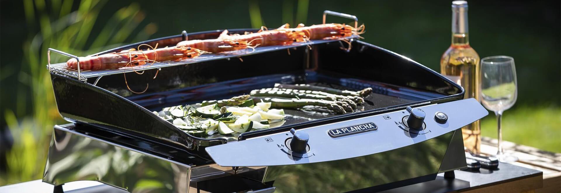 La plancha, un sérieux rival pour le barbecue