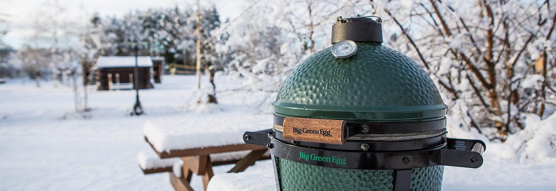 Sélection d'items pour une séance de barbecue hivernale réussie